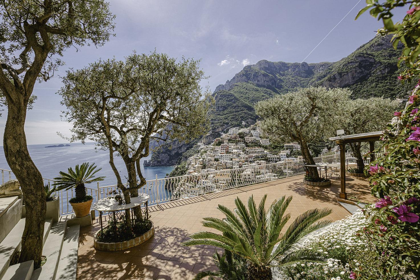 Terrace of Villa Oliviero