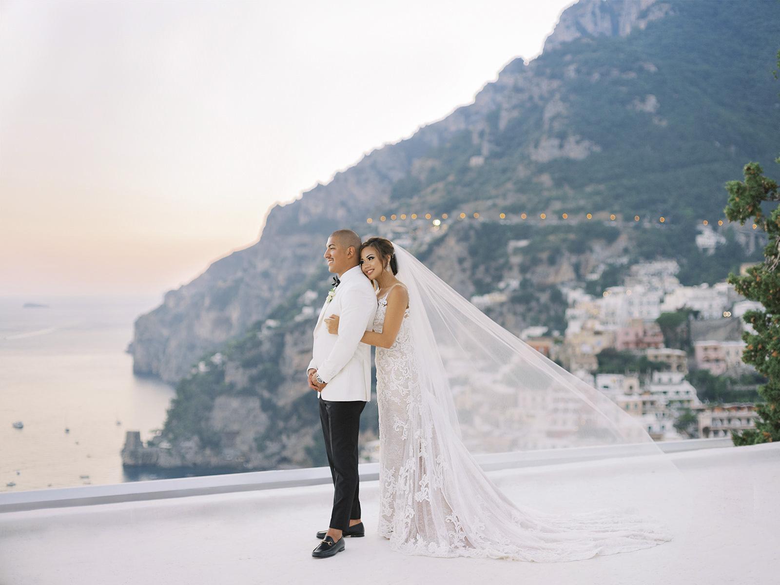 Amalfi Coast Wedding in Positano