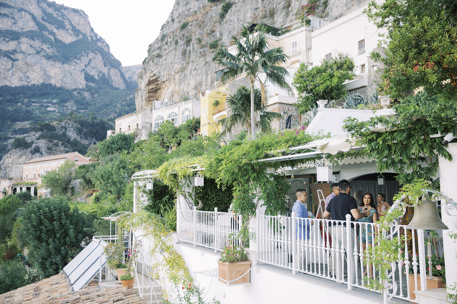 Villa Oliviero Terrace