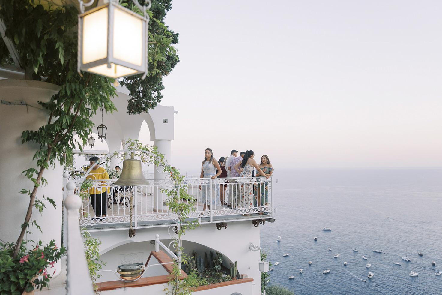 Sea view from Villa Oliviero