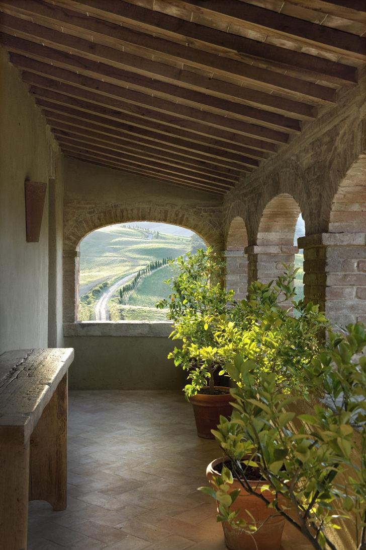 Patio of the villa