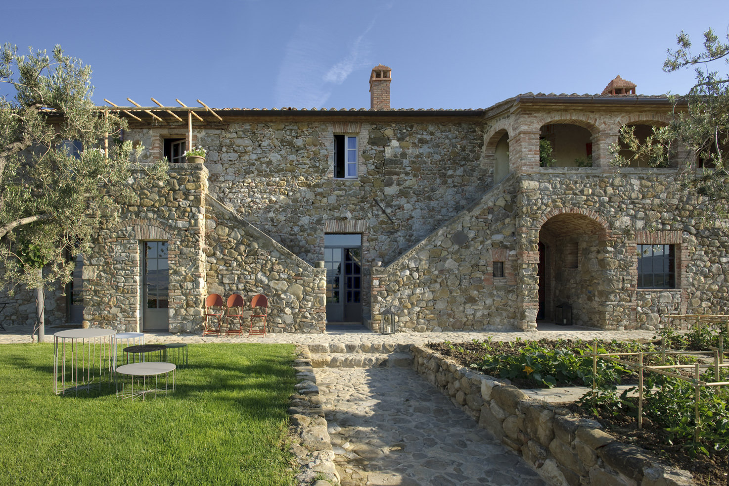 Private villa in the Val D'Orcia region of Tuscany