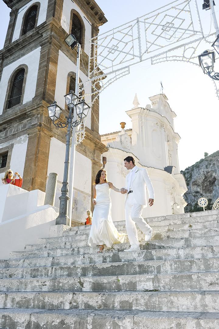 Wedding in Atrani