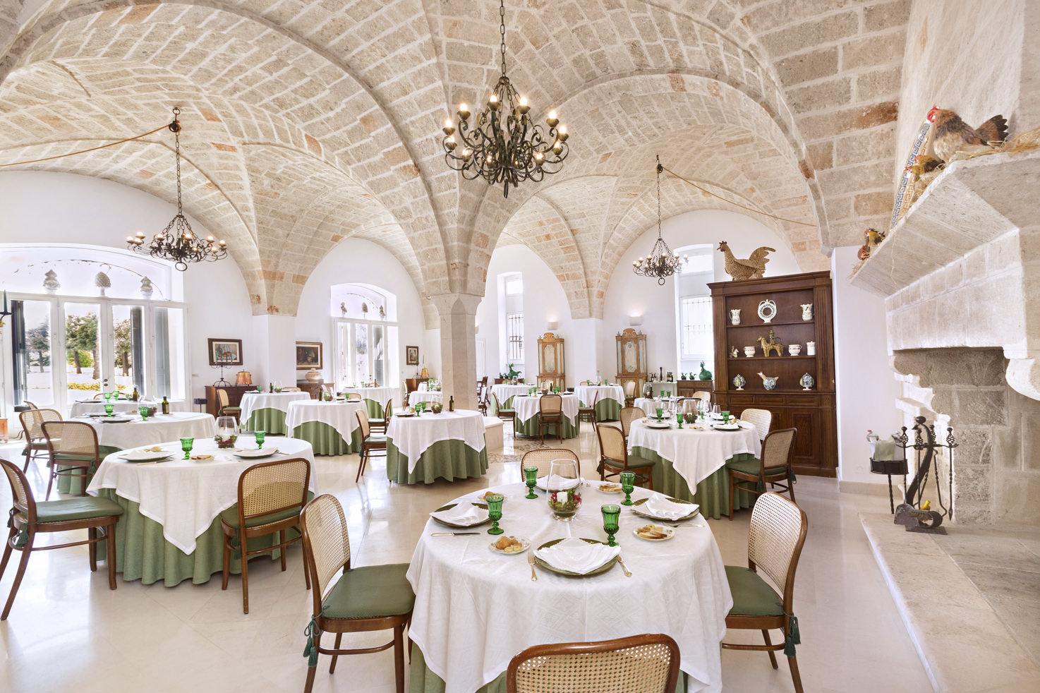 Restaurant of Masseria San Domenico