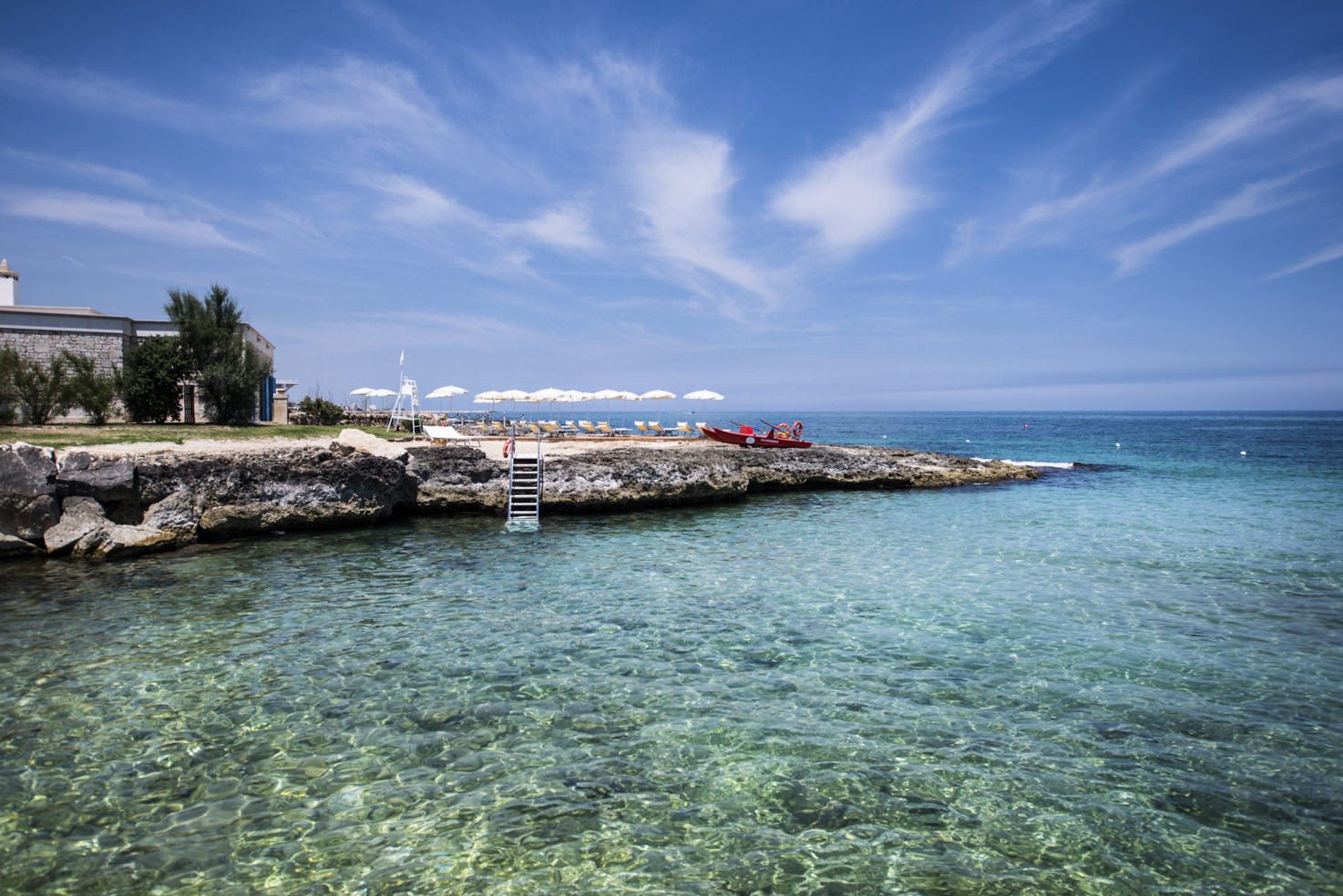 San Domenico a Mare Beach club