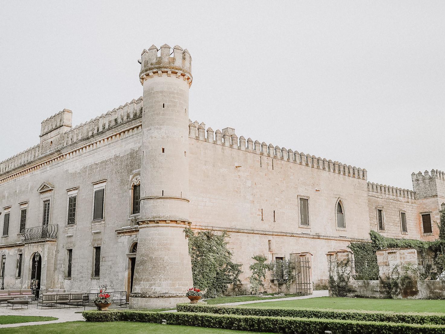 Castello Monaci for weddings in Puglia