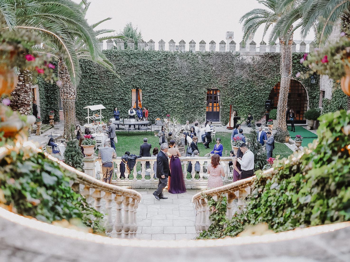 Wedding cocktail at Castello Monaci