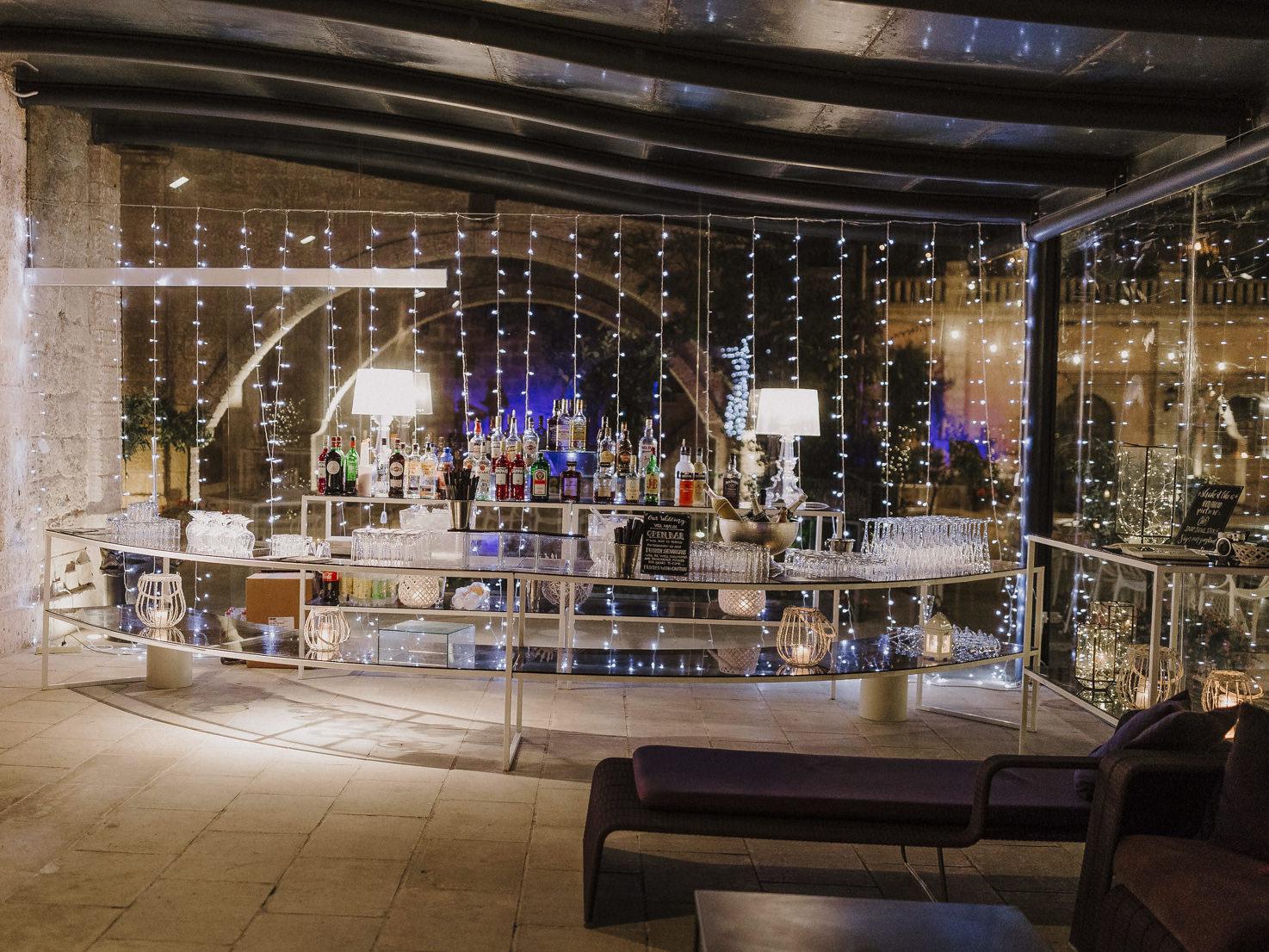 Bar of Castello Monaci