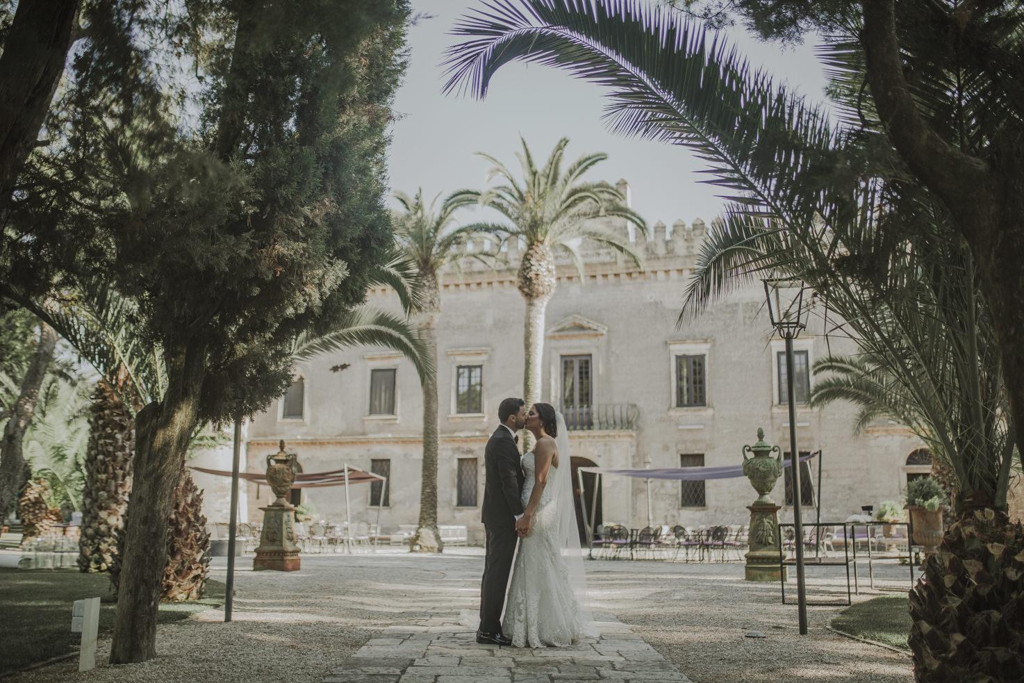 Wedding at Castello Monaci, Puglia