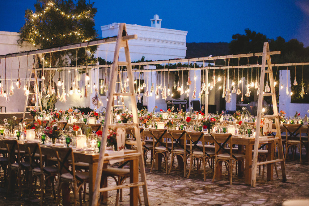 Wedding reception at Masseria Le Carrube