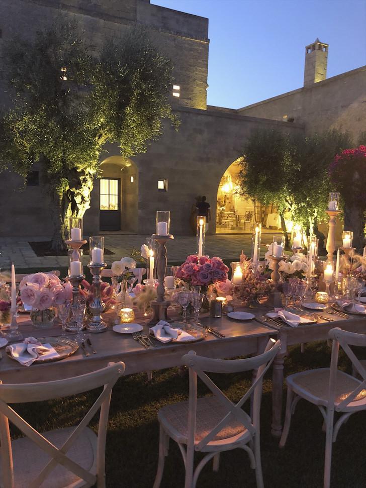 Wedding reception at Masseria Pettolecchia