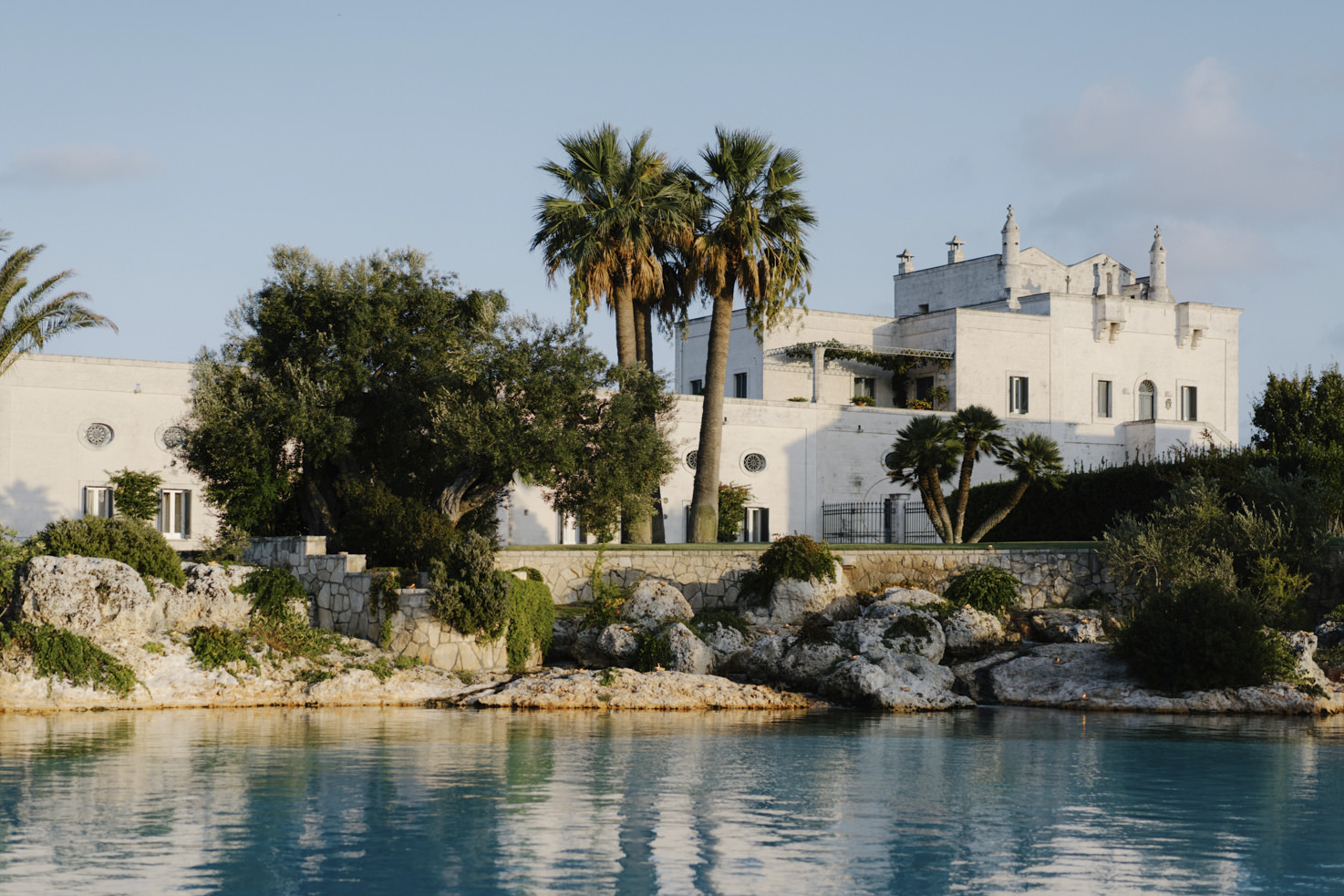 Front view of the Masseria