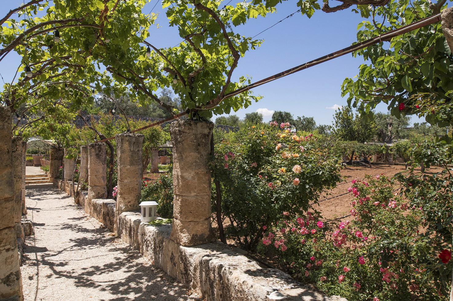 Torre Coccaro ancient gardens