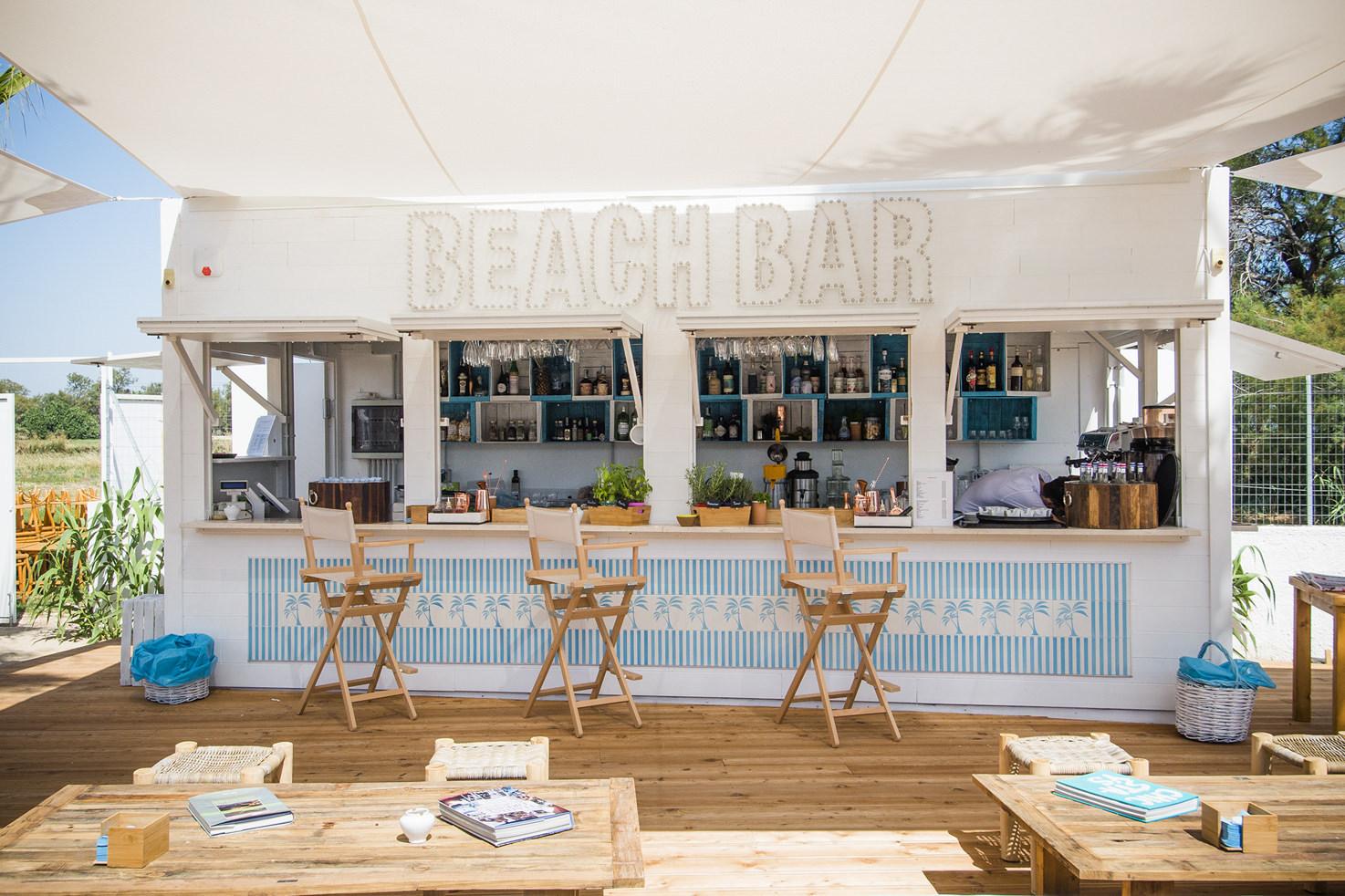 Torre Coccaro Beach bar