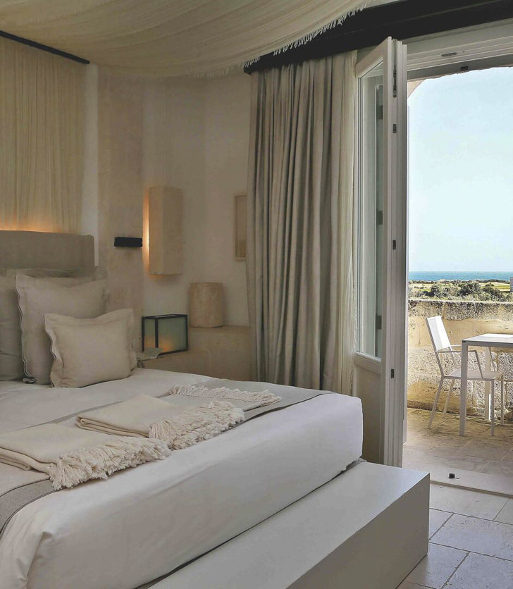 Accommodation at Borgo Egnazia