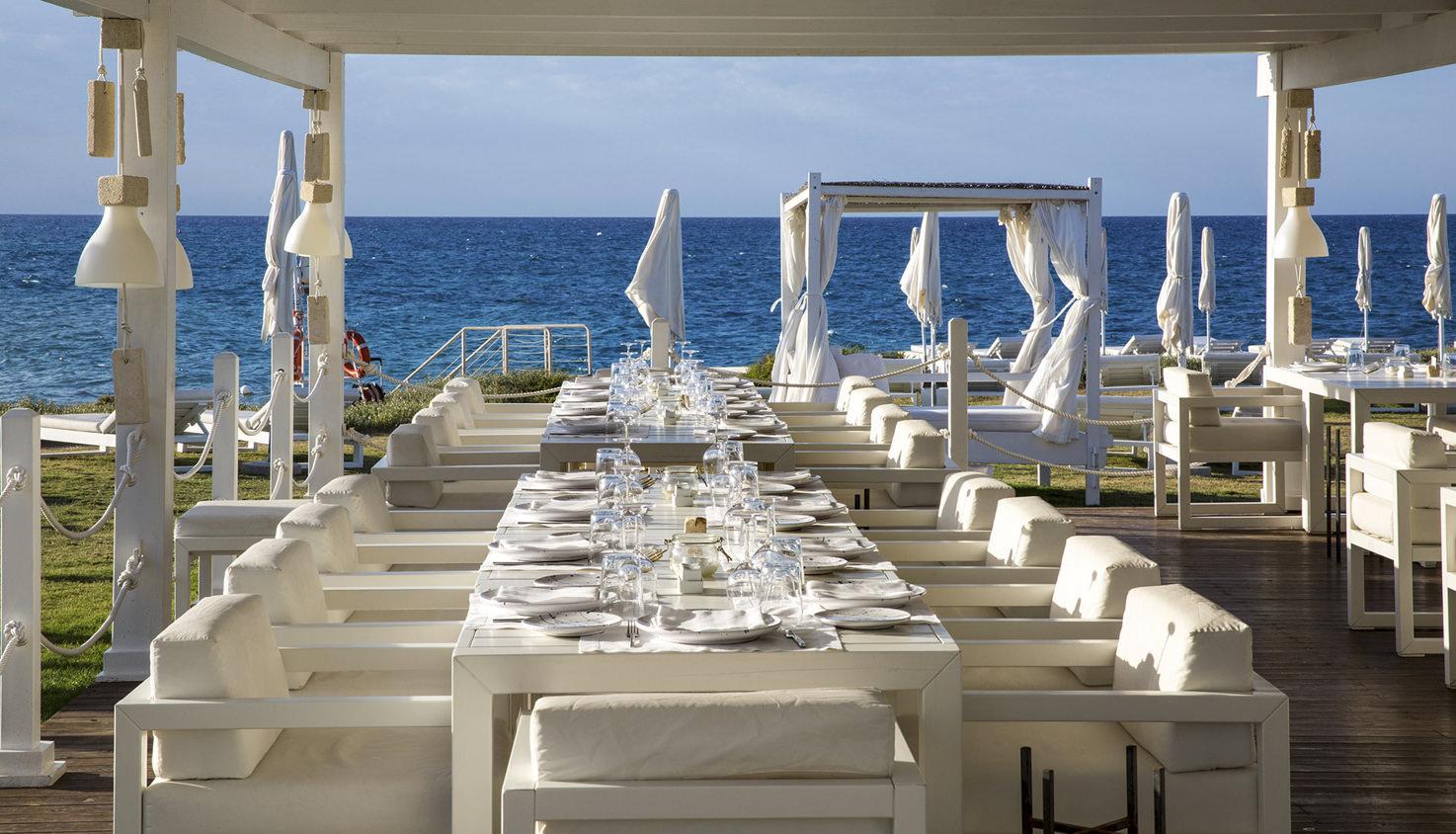 Borgo Egnazia outdoor restaurant