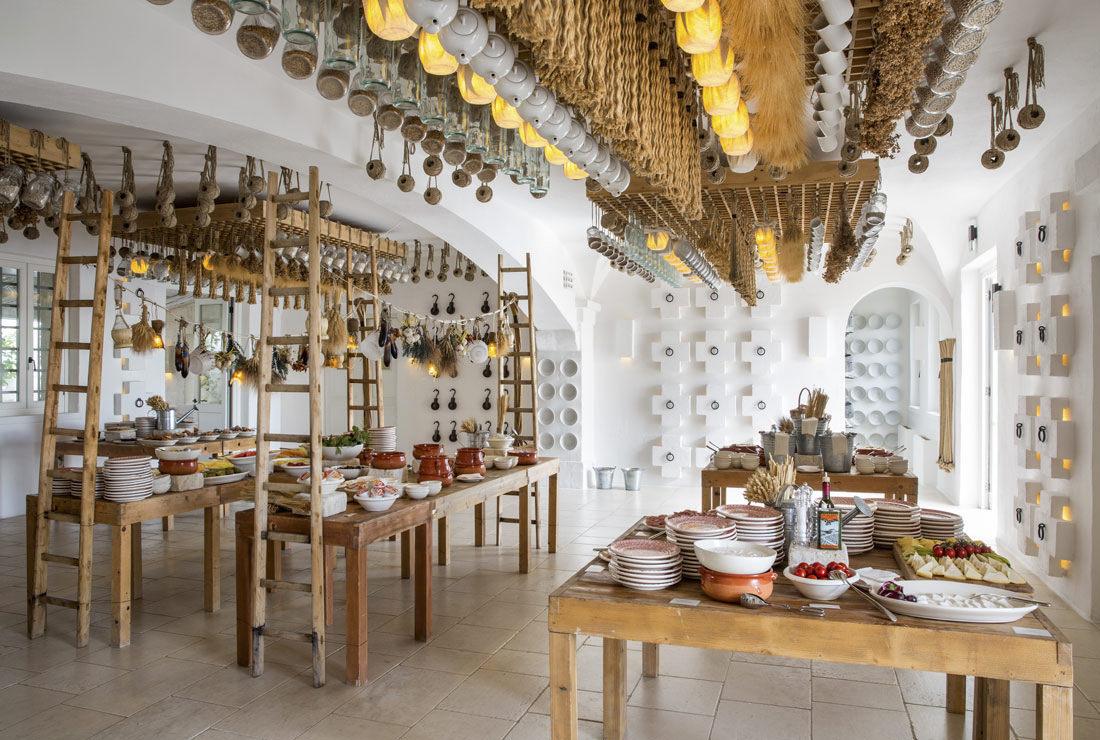 Traditional Puglia restaurant