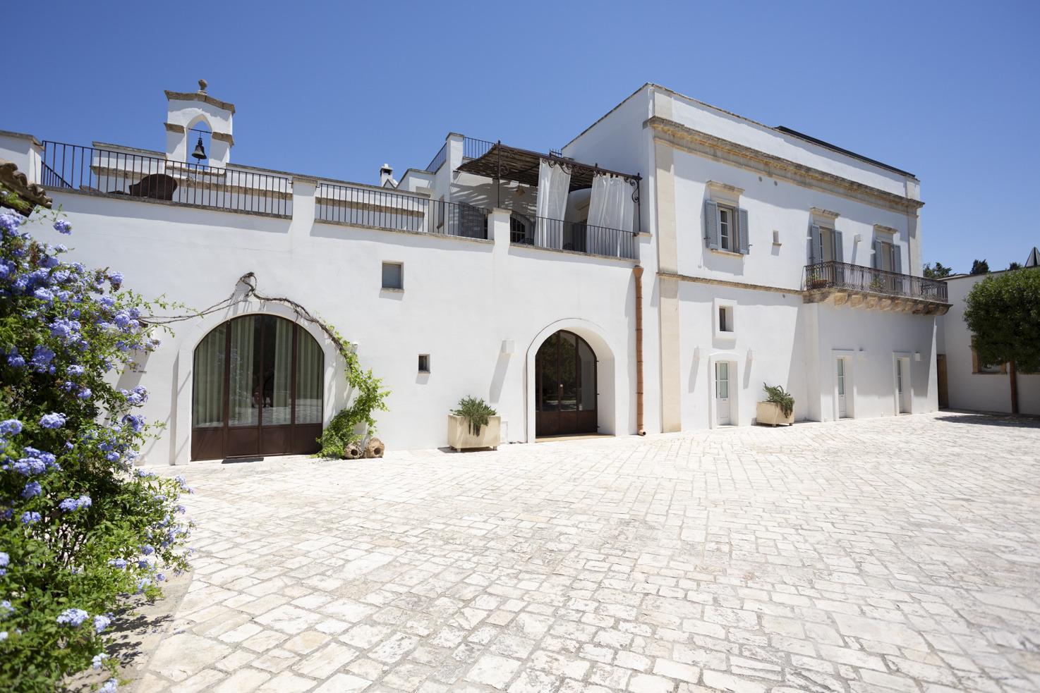 Exterior of Masseria Borgo Mortella