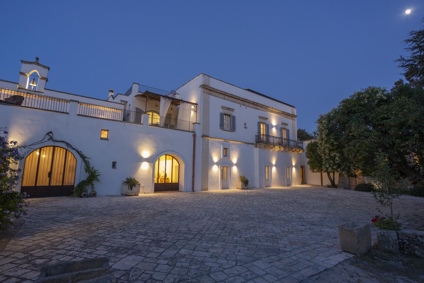 The Masseria by night