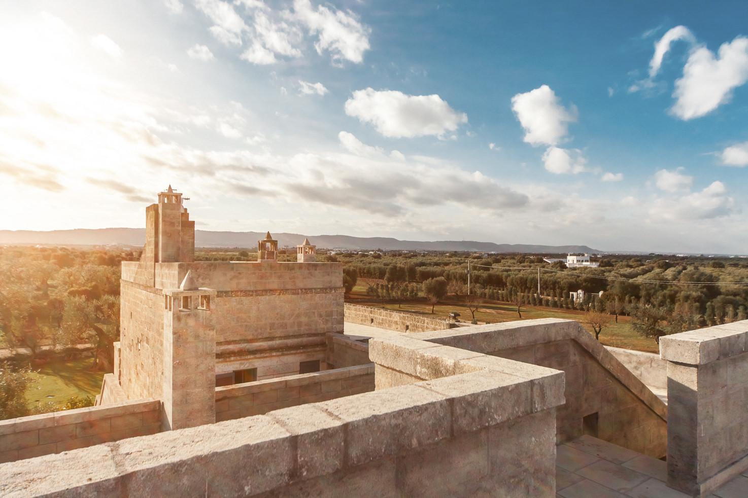 Panorama of Puglia