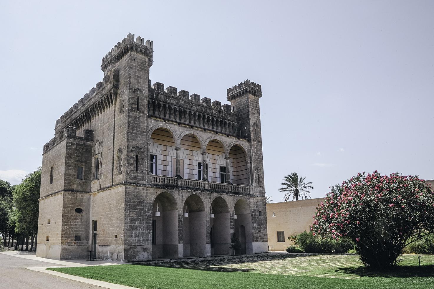 Exterior of Vinilia Resort in Puglia