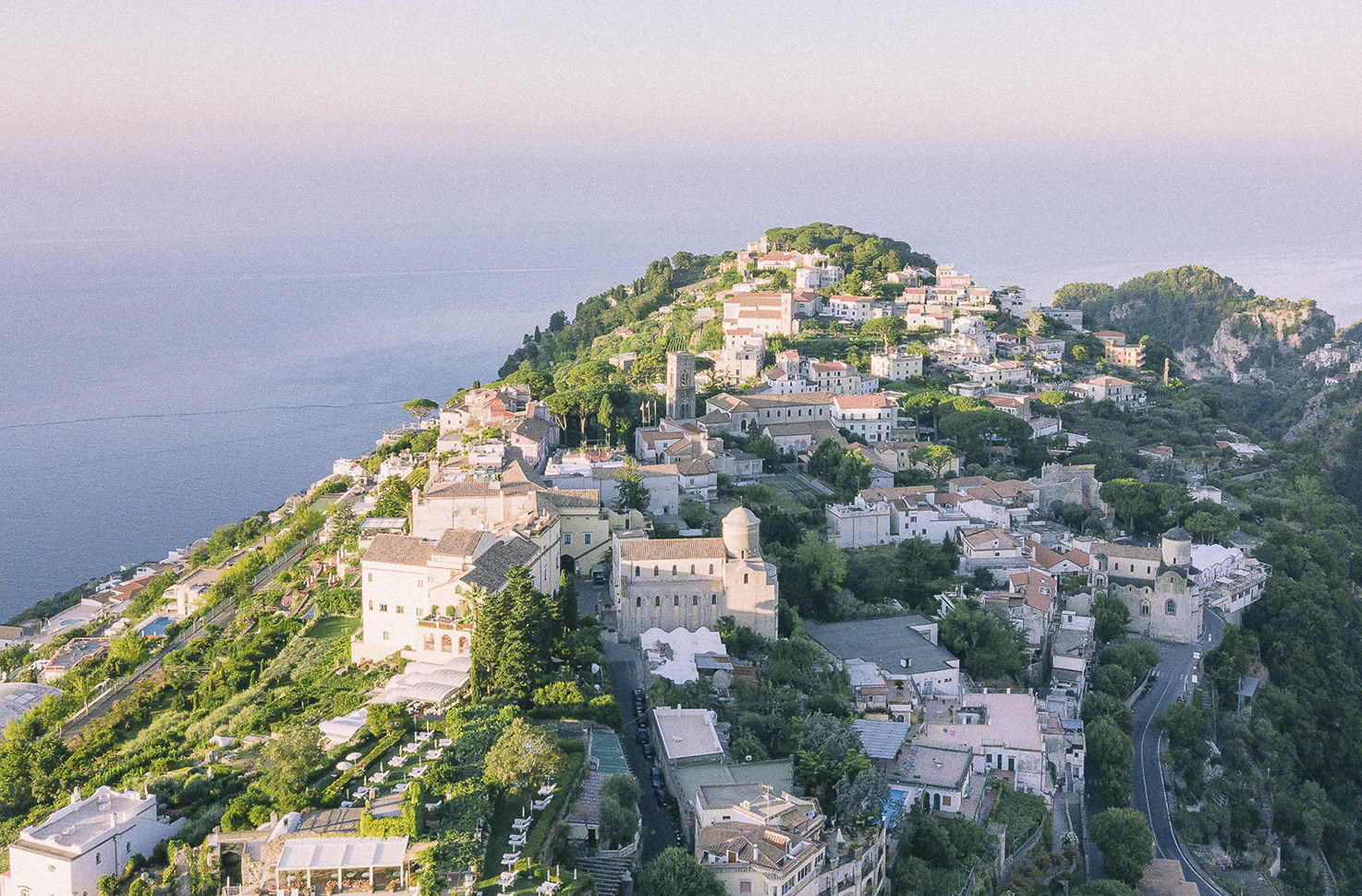 Ravello on the Amalfi Coast of Italy