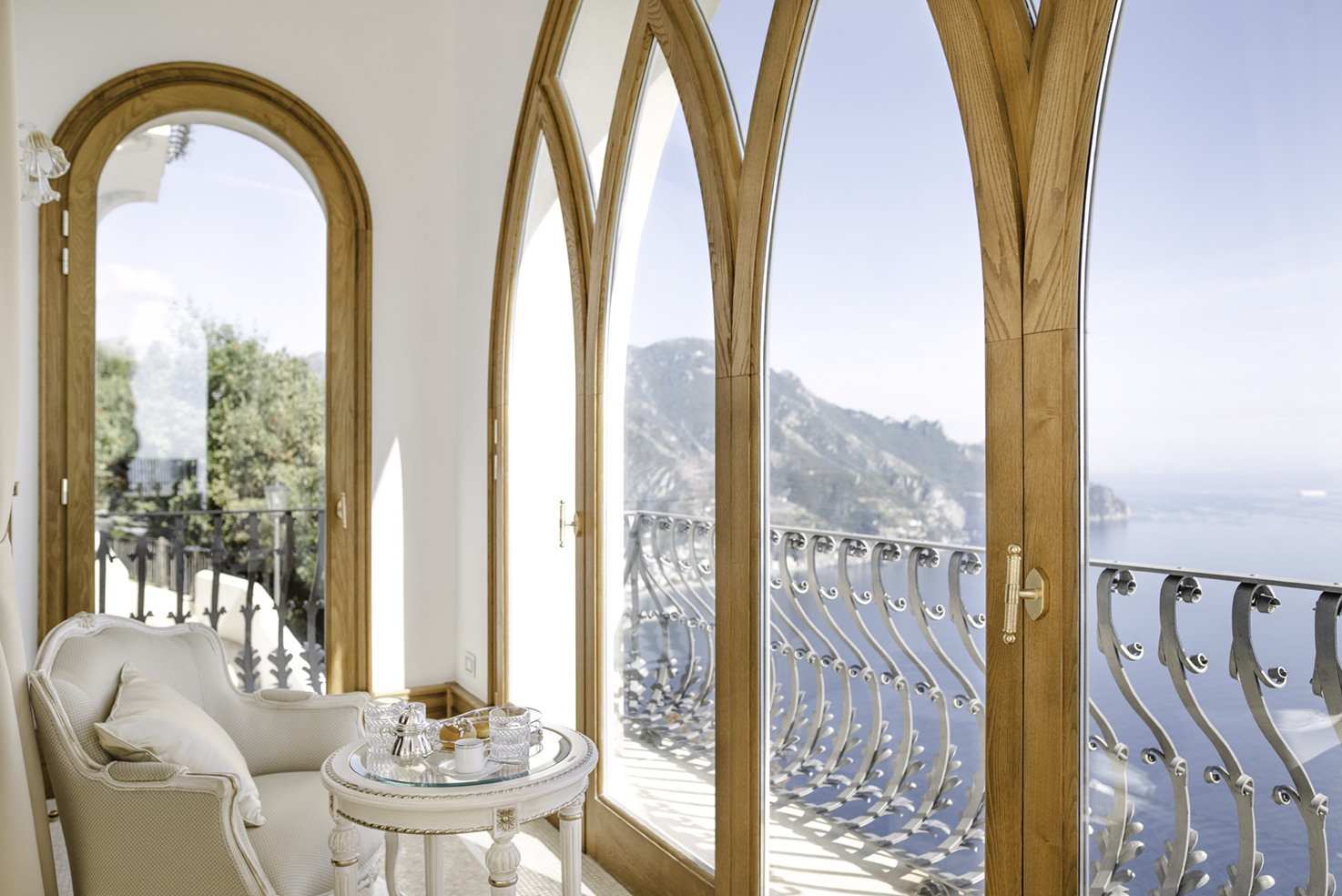 Suite with seaview at La Rondinaia