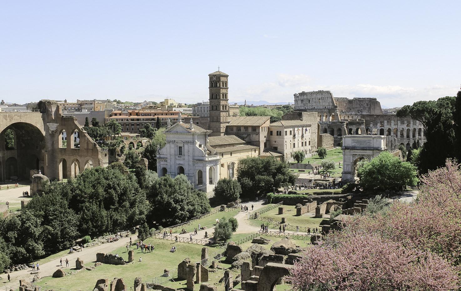 Church of Santa Francesca Romana in Rome