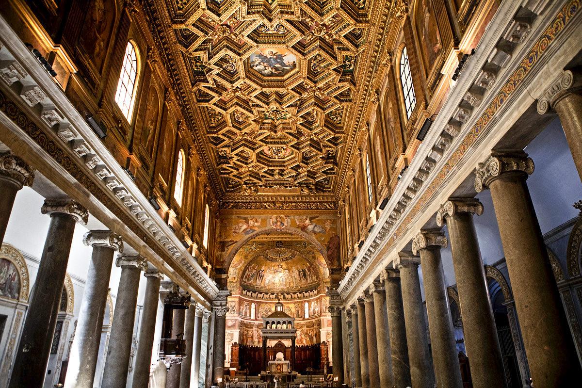 Santa Maria in Trastevere, Catholic church for weddings in Rome