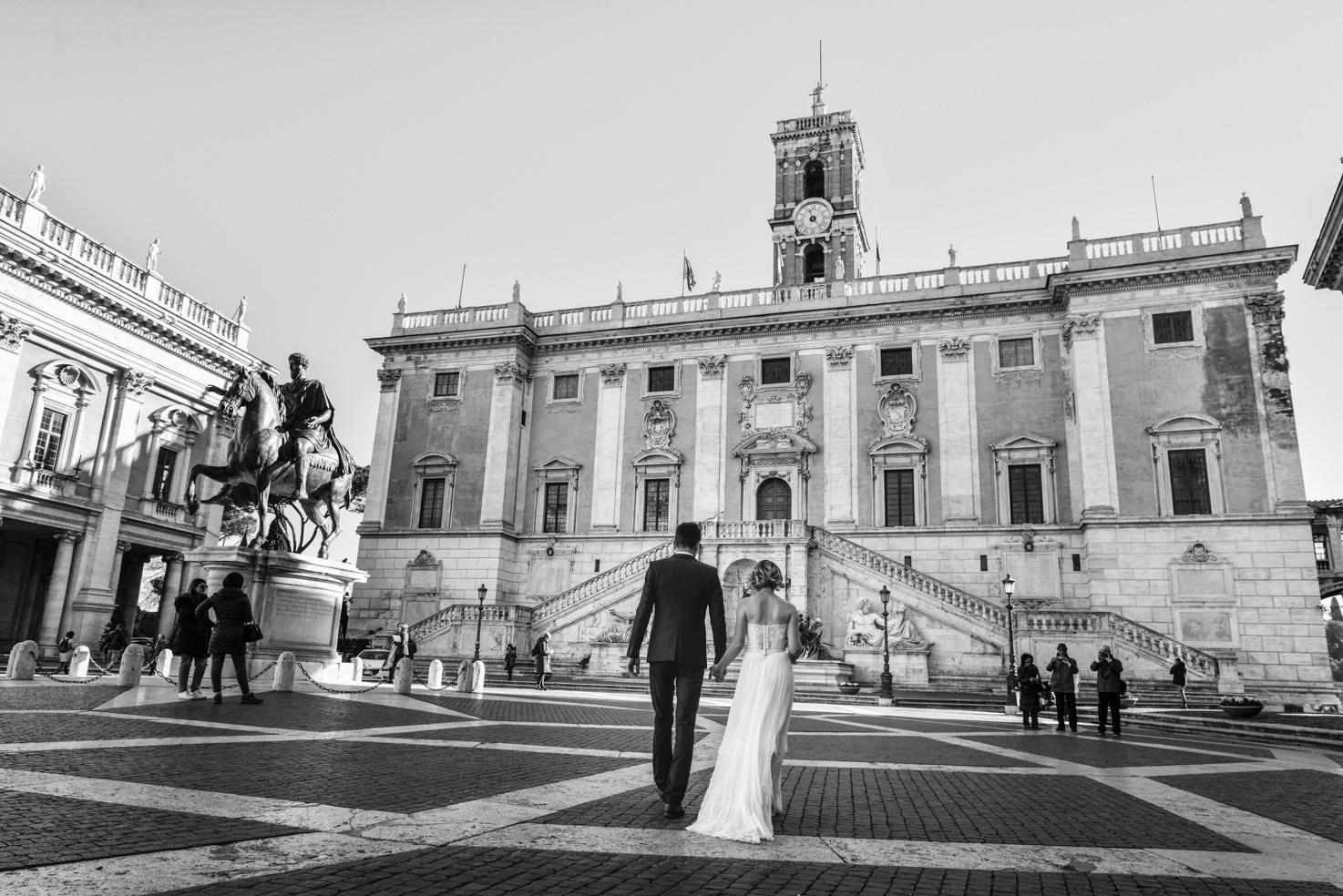 Campidoglio Palace for civil weddings in Rome