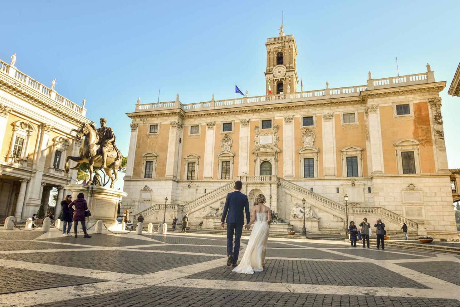 Campidoglio Palace for civil ceremonies in Rome