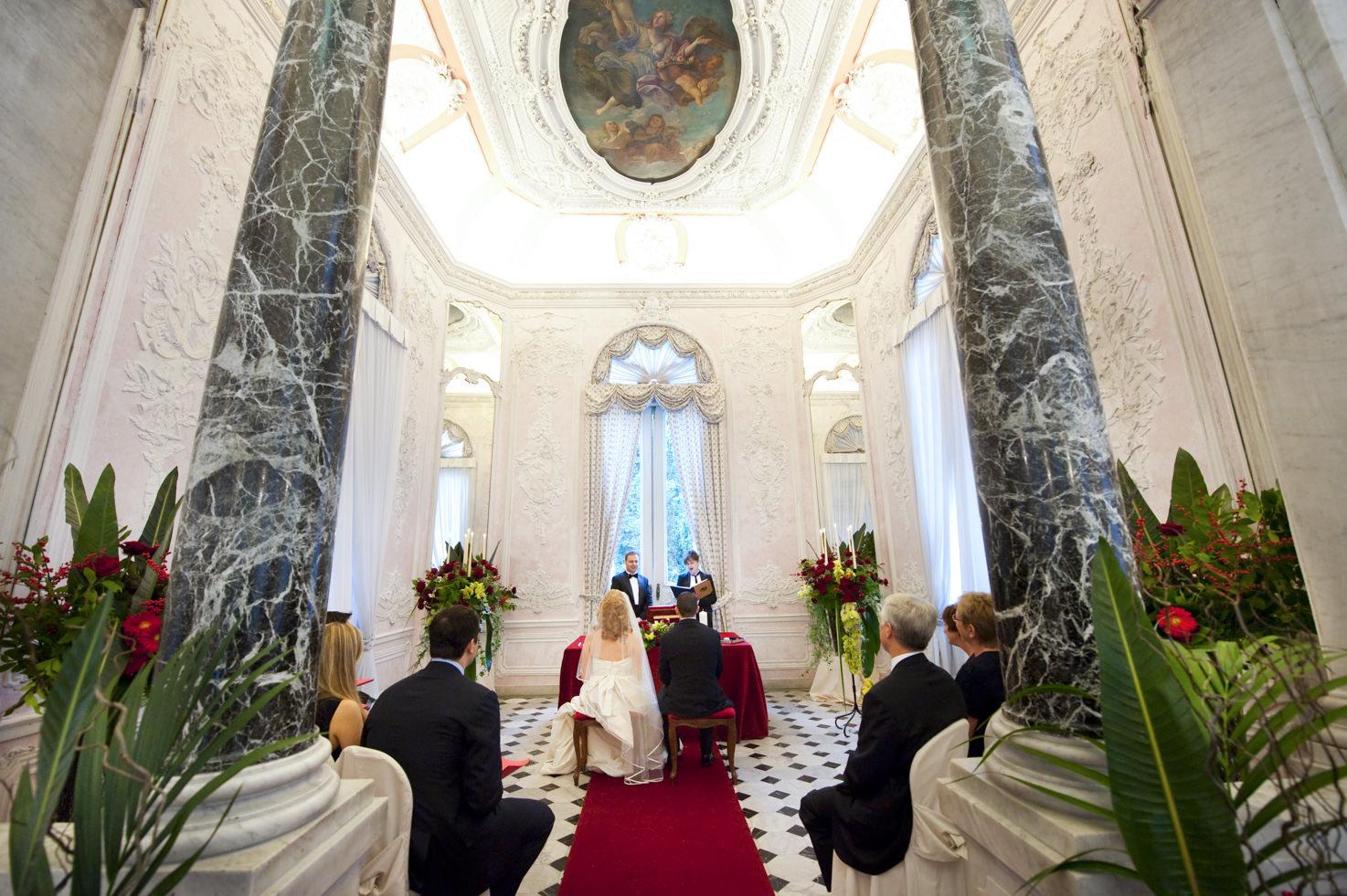 Symbolic ceremony at Palazzo Brancaccio