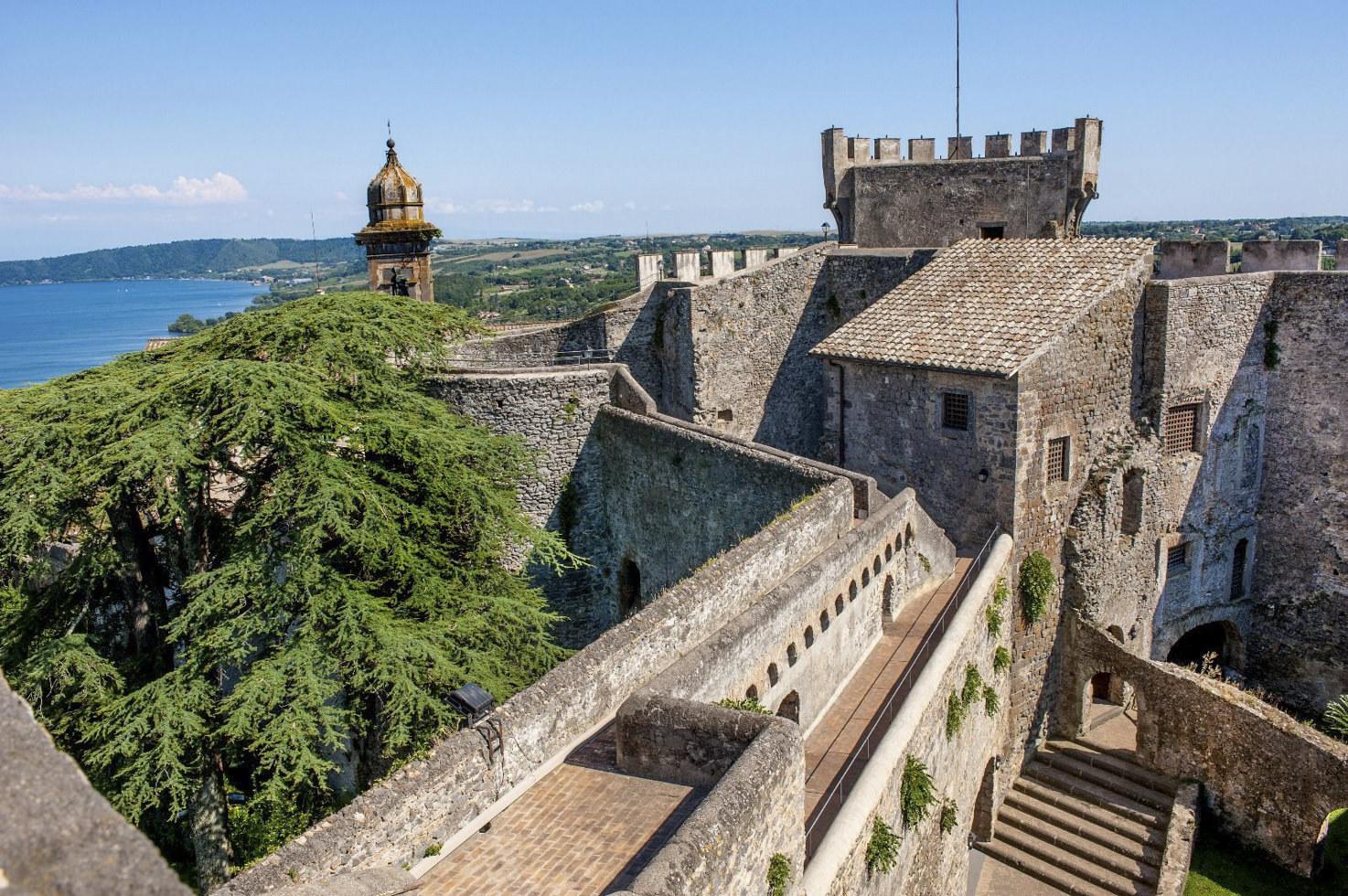 Rooftop of Castello Odescalchi