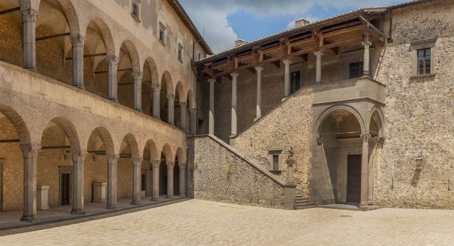 Court of Honor of Castello Odescalchi