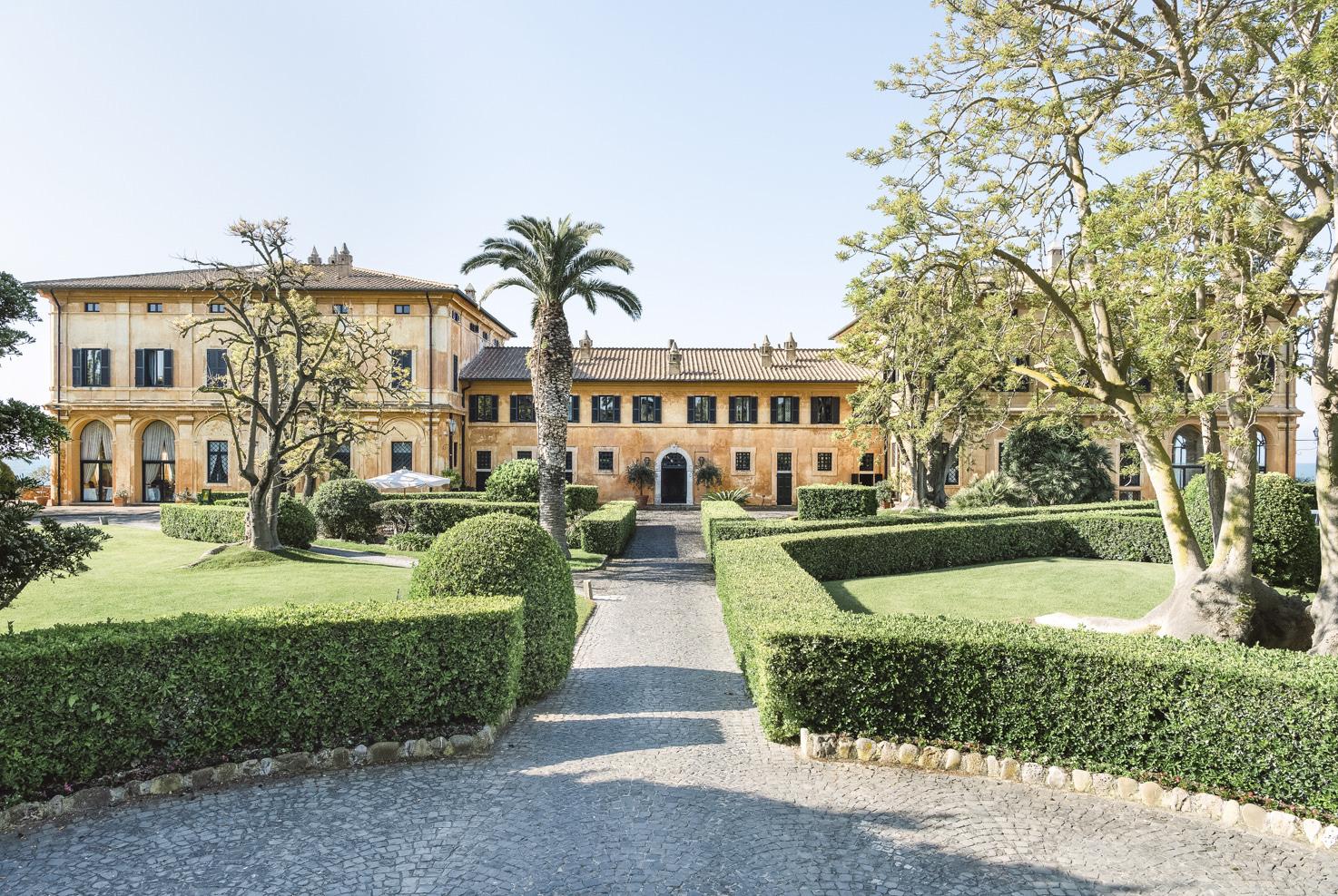 Front view of La Posta Vecchia