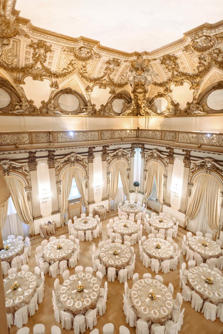 Wedding reception at Palazzo Brancaccio