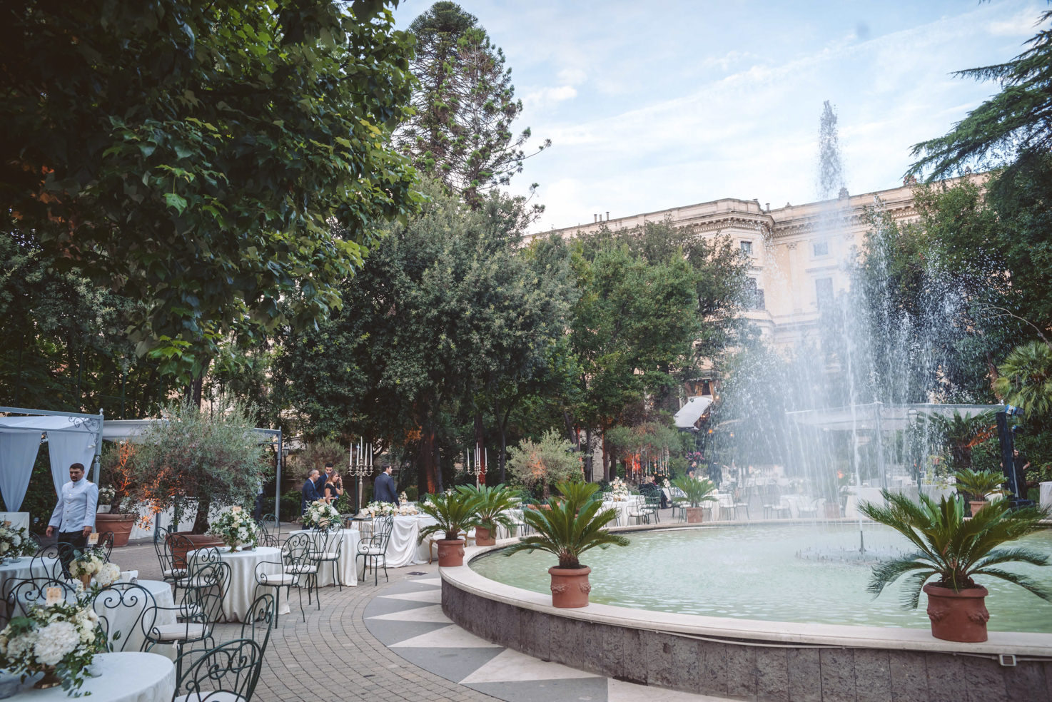 Gardens of Palazzo Brancaccio