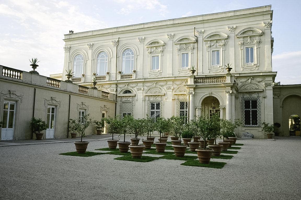 Exterior of Villa Aurelia, Rome