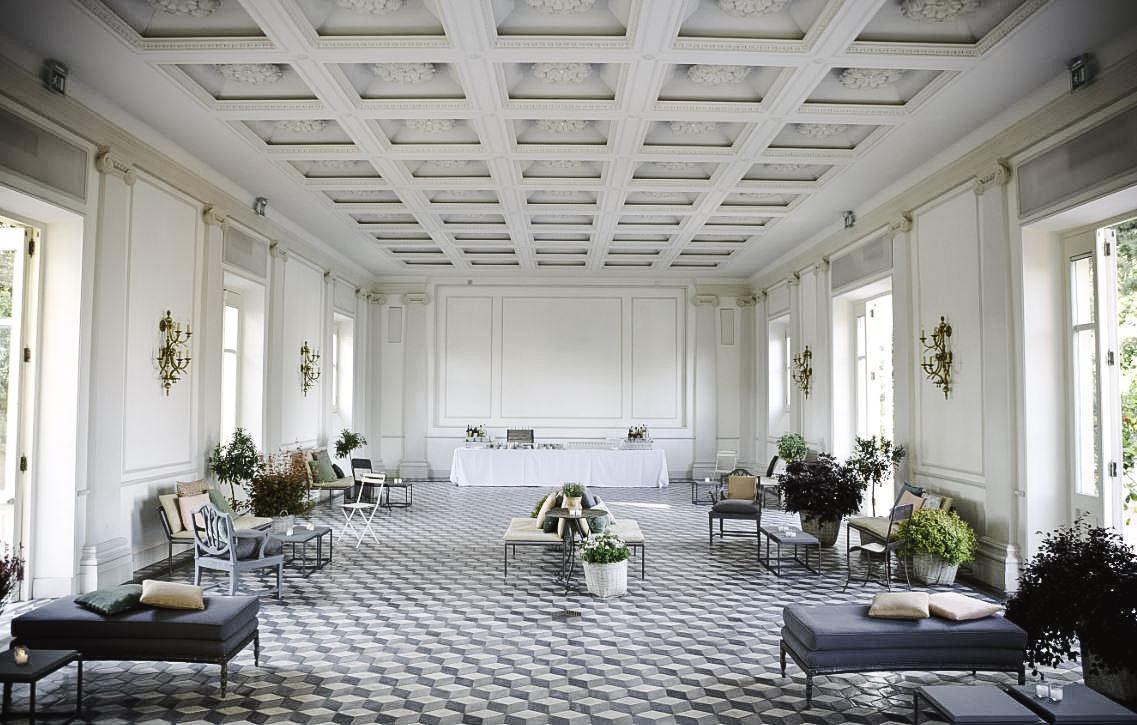 Hall of Villa Aurelia, Rome