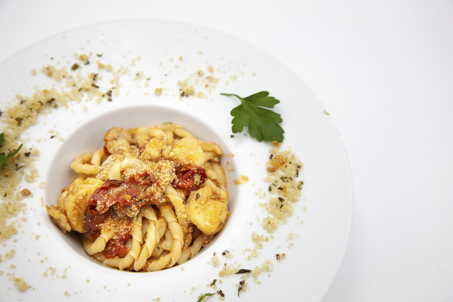 Cuisine of Baglio Oneto restaurant