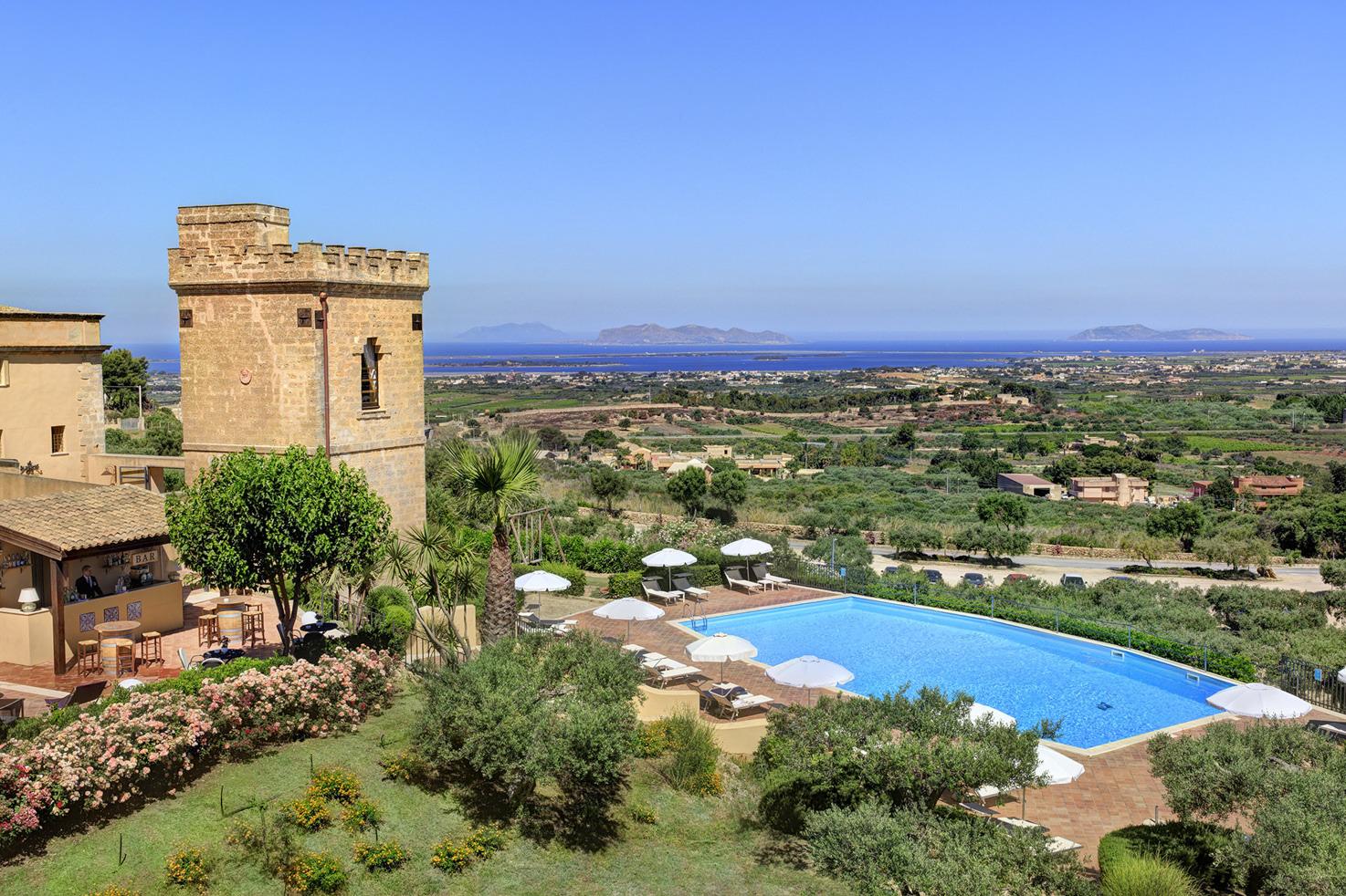 Panoramic view of Baglio Oneto