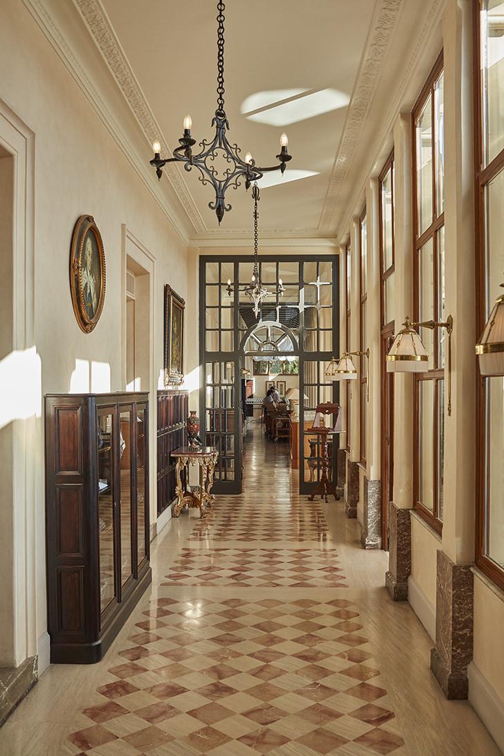 Interior of the hotel