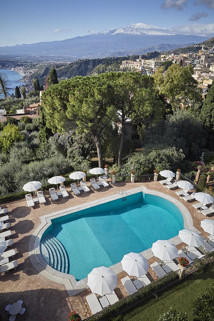 Terrace Pool of Grand Hotel Timeo