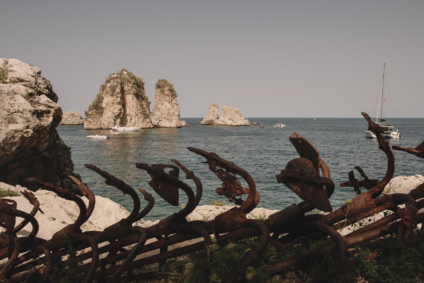 Mediterranean Sea in front of Tonnara di Scopello
