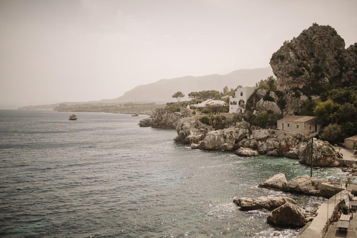 Panorama of Sicily