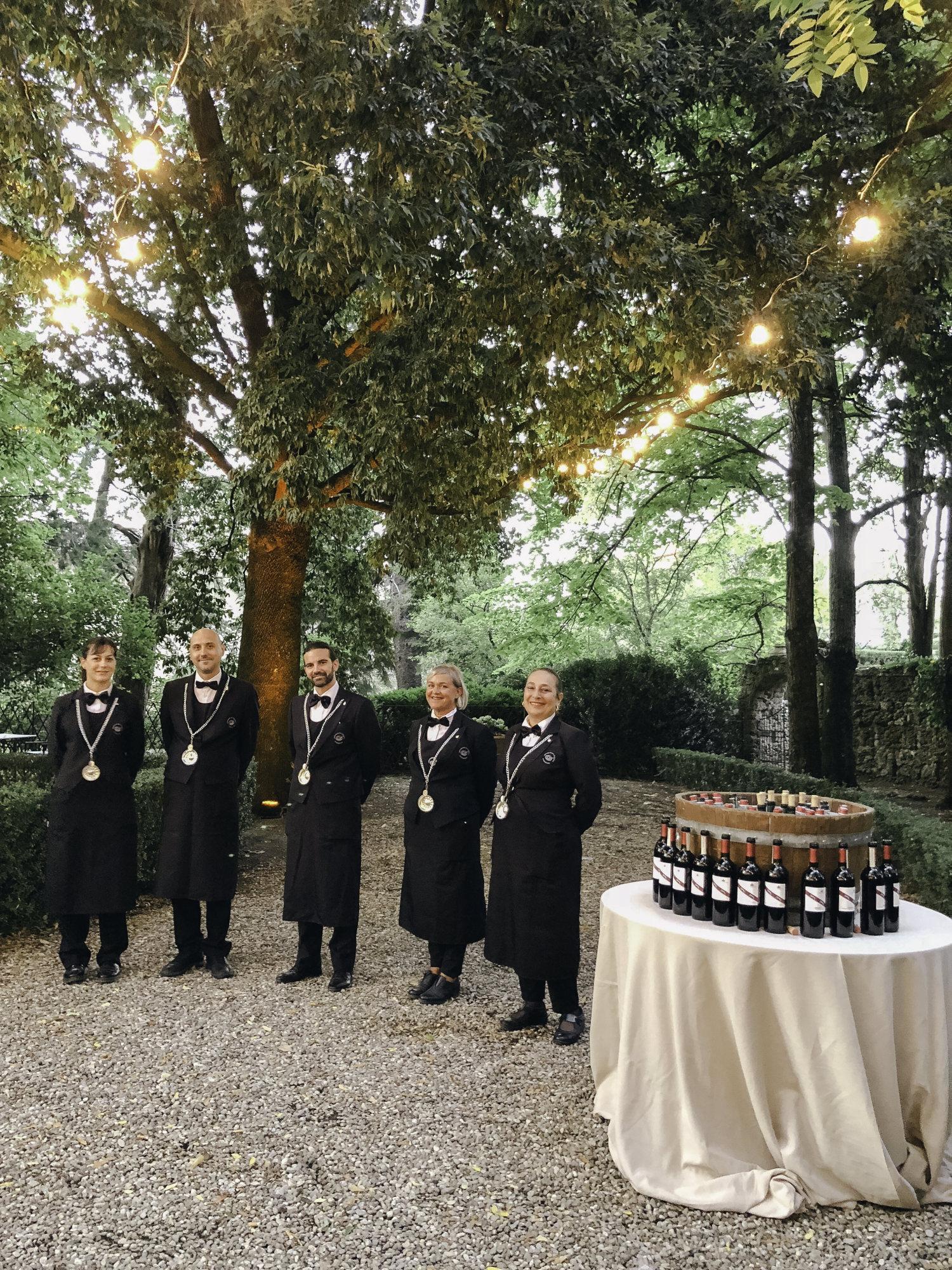 Staff of Borgo Stomennano