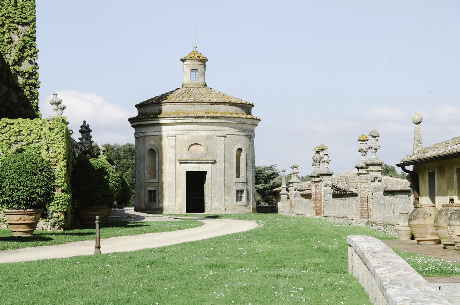 Chapel for religious ceremonies