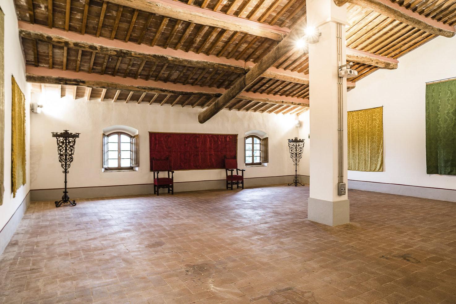 Interior of Castello di Celsa