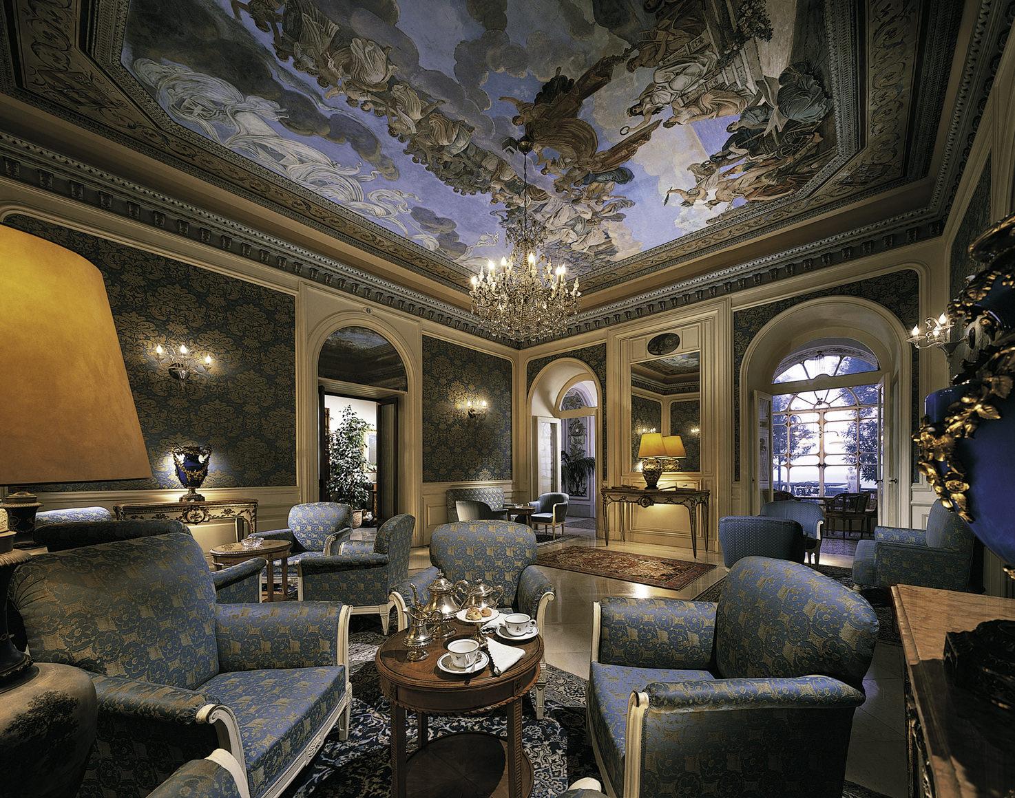 Interior of Hotel Excelsior Vittoria, Sorrento