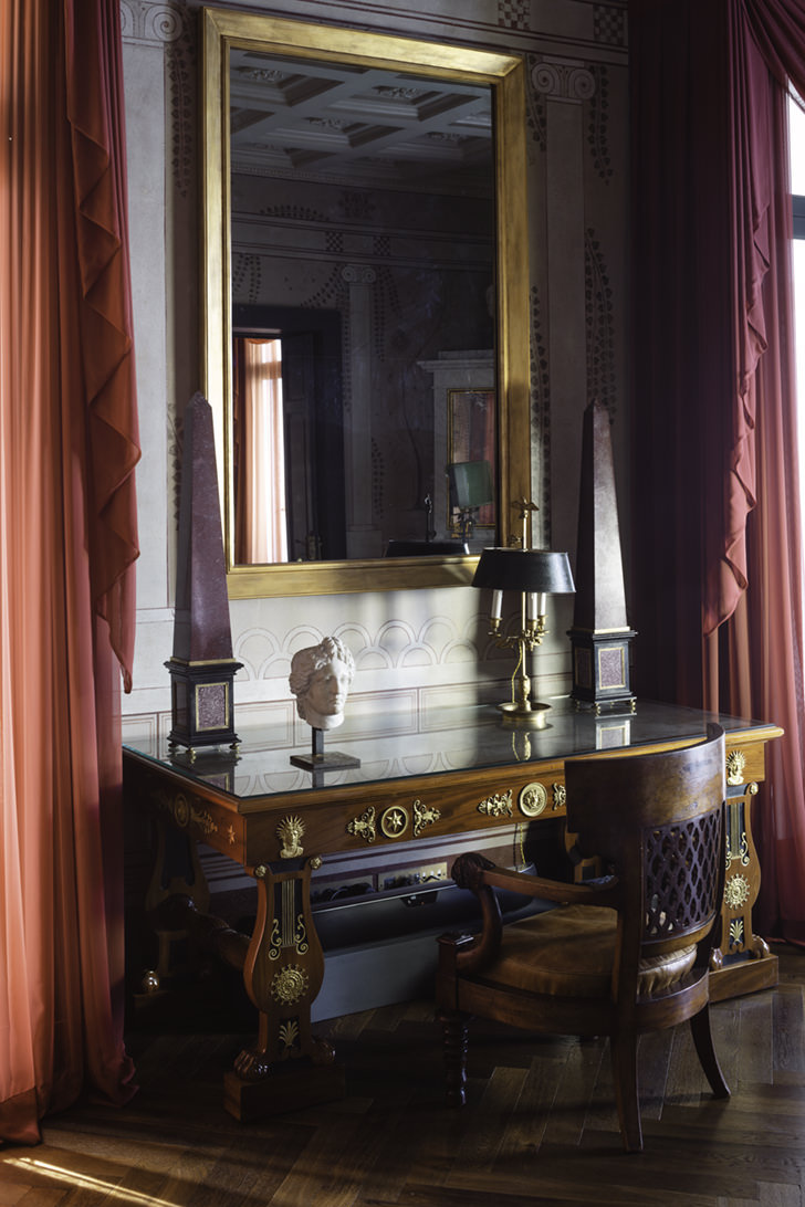 Interior of Villa Astor
